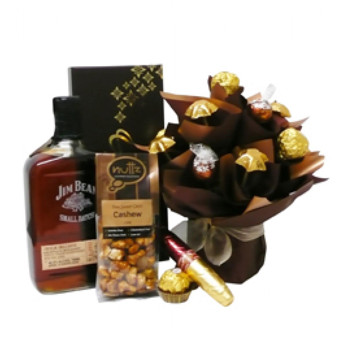 Jim Beam и шоколадови изкушения