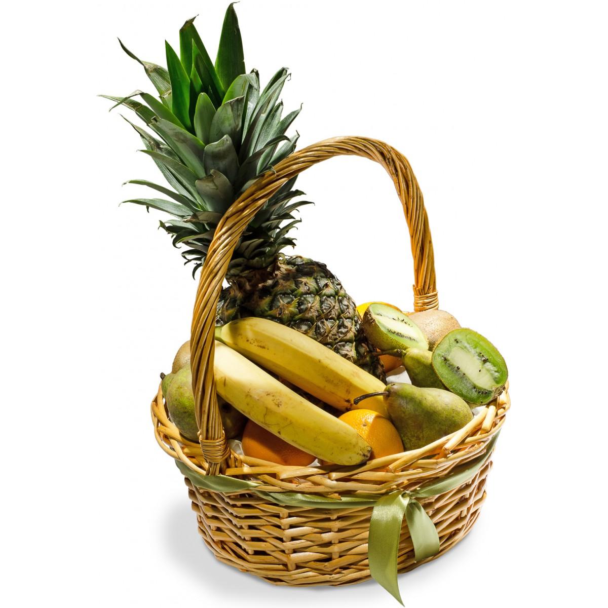 Кошница с плодове Ананас и банани
